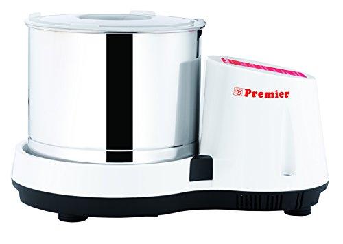 Premier Compact Table Top Wet Grinder -110volts 2 Ltrs (White) (Compact Mixer Watt)