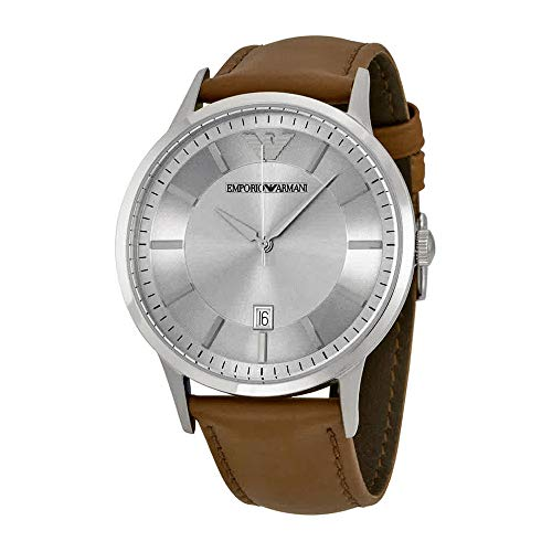 Emporio Armani Men's AR2463 Dress Brown Leather Watch