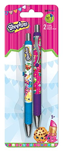2 x Inkworks Trends International Shopkins Gel pens