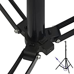 Ravelli ALS Full 10\' Air Cushioned Light Stand With Included Adaptor To Also Support 1/4\