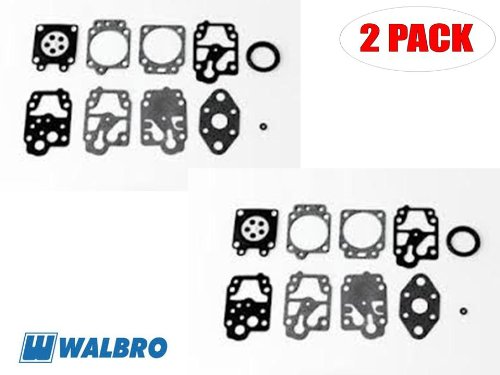 Walbro D11-WYL Gasket&Diaphragm Kit for Ryobi Trimmer AC2 (2 Pack)