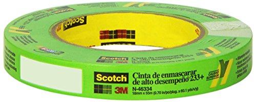 Scotch 46334 233+ 18 mm x 55 m Performance Masking (3m 233+ Scotch)