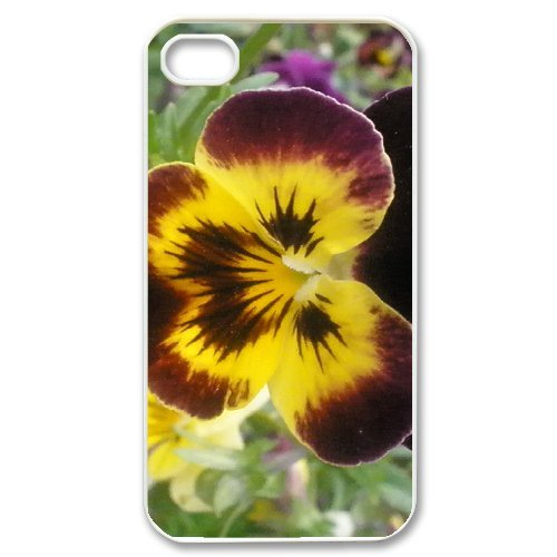 SYYCH Phone case Of Butterfly Flowers 1 Cover Case For Iphone 4/4s
