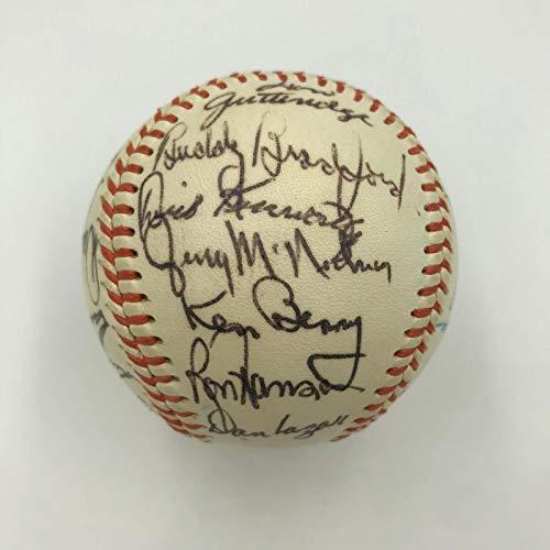1968 Chicago White Sox Team Signed Baseball 27 Signatures With JSA COA