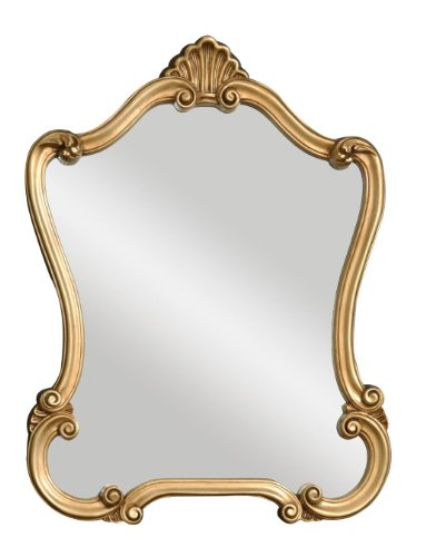 Uttermost 08340 P Walton Hall Mirror - Antique Gold