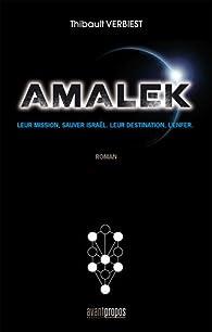 Amalek : Leur mission, sauver Israël. Leur destination, l'enfer par Thibault Verbiest