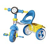 Archana NHR Kids Tricycle With Storage Basket, Lights And Music. Blue