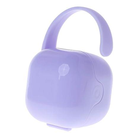 Kimnny Caja de Chupete con Clips para Bebé Pecho Plástico ...
