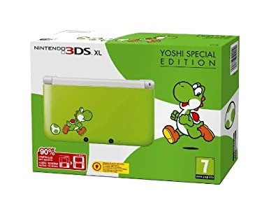 Nintendo 3Ds XL - Console Yoshi Special Limited Edition ...