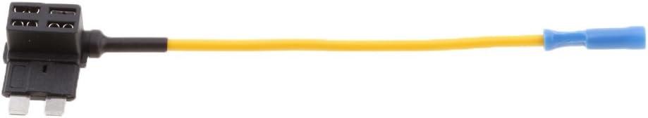 5pcs Automotive ACU ATO//ATC Blade Fuse Tap Holder Line Wire Kit