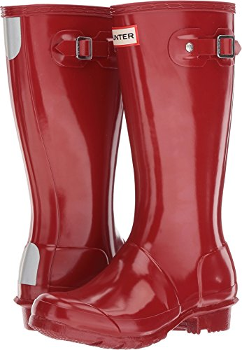 Hunter Kids Original Gloss Military Red Rain Boot - 13 -