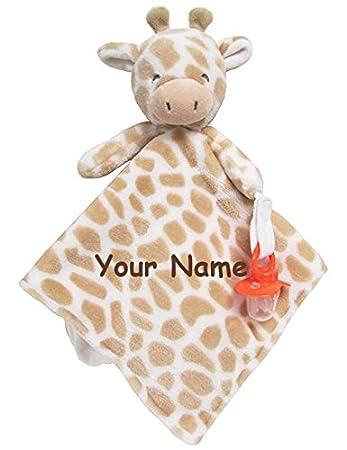 Amazon Com Personalized Carter S Giraffe Cuddle Baby Snuggle