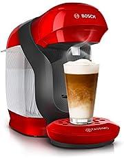 Tassimo Style kapselmaskin kaffemaskin av Bosch, över 70 drycker, helautomatisk, lämplig för alla koppar, utrymmesbesparande, 1 400 W