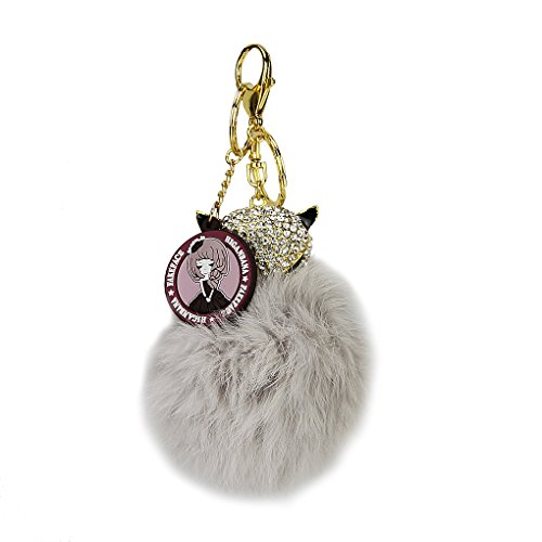 Novelty Artificial Rhinestone Keychains Cellphone