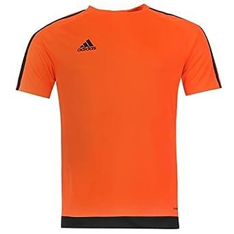 164ad7764776 adidas Mens 3 Stripe Estro T Shirt Short Sleeved Tee Top Climalite:  Amazon.co.uk: Sports & Outdoors
