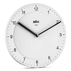 Braun Classic Analogue Wall Clock - BC06W