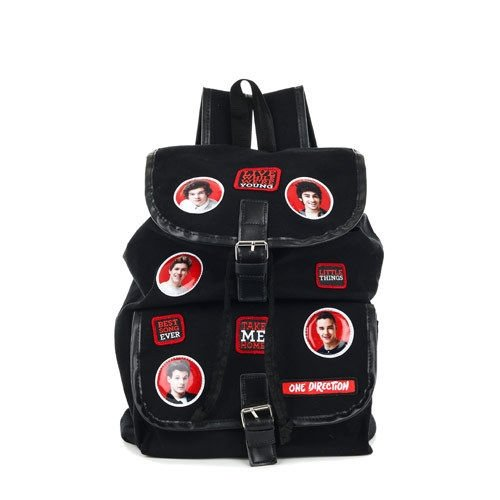One Direction 1D Canvas School Backpack -