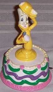 Schmid - Musical Walt Disney Beauty and the Beast Lumiere Figurine