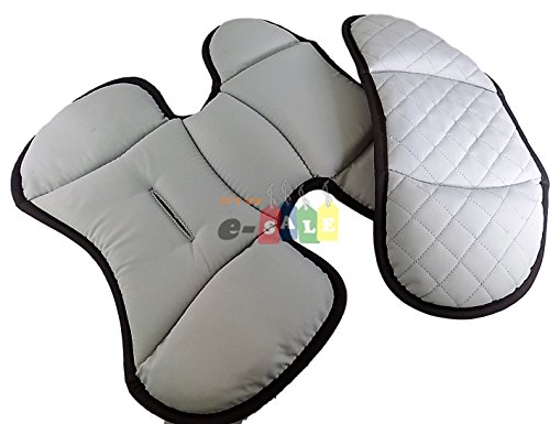 Replacement Infant Head And Body Insert For Chicco KeyFit 30 Car Seat CUBES