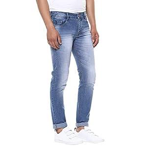BUkkL Men's Slim Fit Jeans