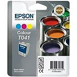 Epson T041 Cartouche d'encre d'origine Couleur pour Stylus C62 CX3200