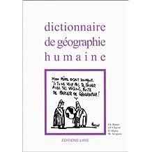 dictionnaire de geographie humaine