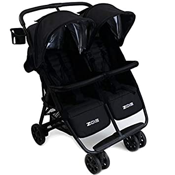 e10d143f9 Amazon.com : ZOE XL2 Best Double Stroller - Everyday Twin Stroller with  Canopy : Baby