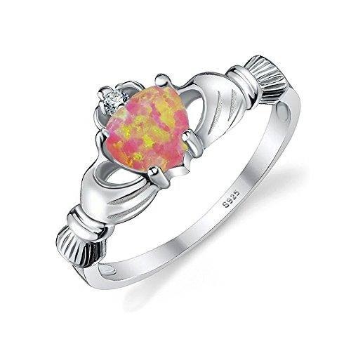 JewelryPalace Claddagh Created Promise Sterling product image