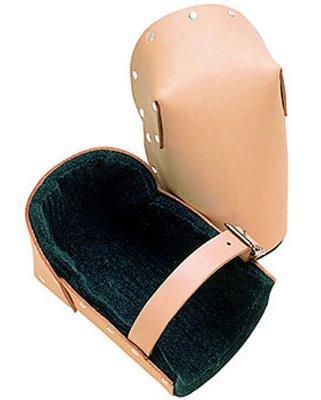R & J Leathercraft 83091 Felt Lined Leather Knee Pads (309)