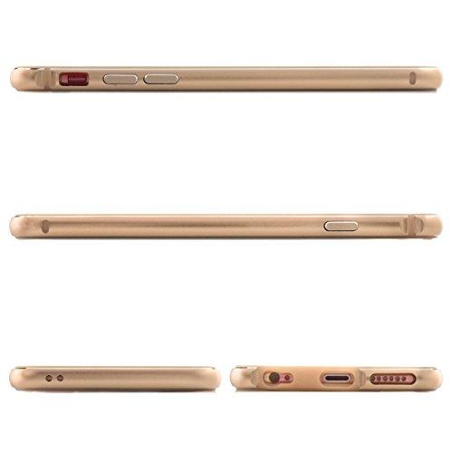Alienwork Coque pour iPhone 6 Plus/6s Plus or champagne Case Etuis Housse ultra-mince Aluminium or AP6SP03-04