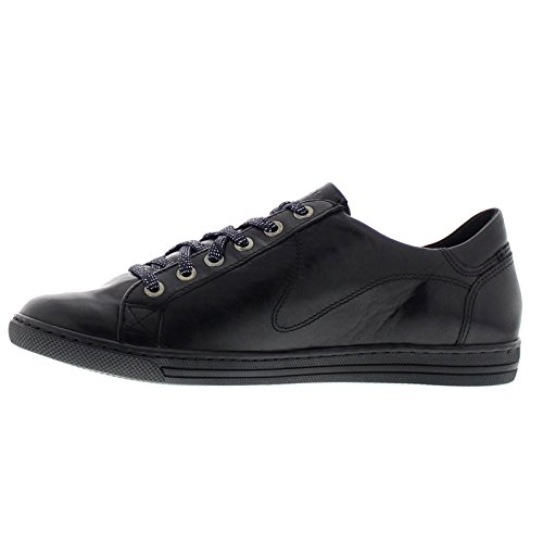 Hawai Shoes Leather Womens Mobils Black F5qSnZn7