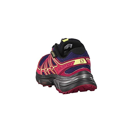 Sunny Lime Schuhe Trailrunning Salomon Wings Flyte Evening Blue Damen Red GTX Beet 2 YXY6qPw1