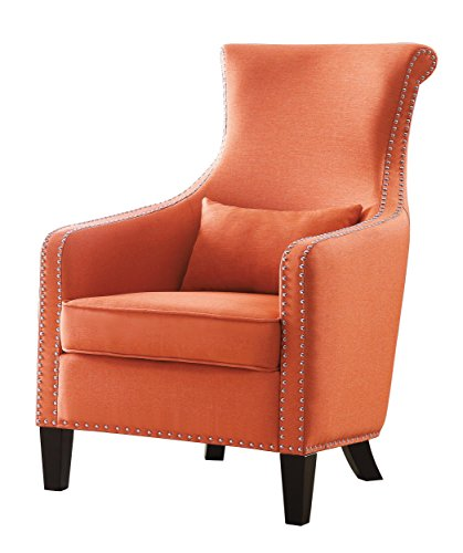 Modern Orange Accent Chairs Exterior
