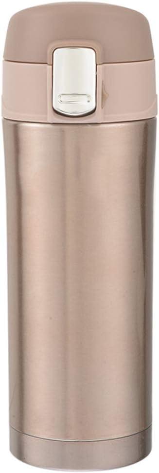 XHHWZB Copa de vacío Botella de Coche de Acero Inoxidable Vaso de Aislamiento del vehículo Tapa de la Botella Botellas de Agua de Viaje