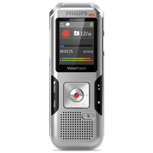Philips DVT4010 Voice Tracer 4010 Digital Recorder, 8 GB, Silver by PHILIPS
