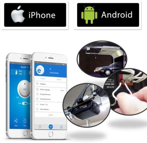Smart Garage - WiFi Garage Door Opener Controller with App for iPhone or Android