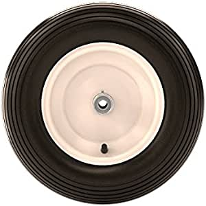 Bon 80-105 16-Inch Ribbed Pneumatic Replacement Wheel and Tire for Wheelbarrow