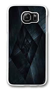 Abstract Maze 2 Custom Samsung Galaxy S6/Samsung S6 Case Cover Polycarbonate Transparent by mcsharks