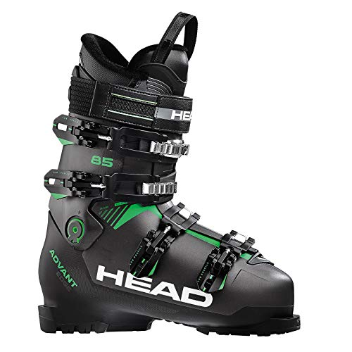 HEAD Advant Edge 85 Ski Boot - Mens, Anthracite/Black/Green, 25.5 (Skis Head 2013)