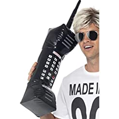 Smiffys Inflatable Retro Mobile Phone Si...