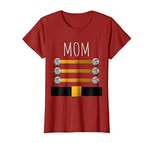 Womens Nutcracker Family Pajama T Shirt Fun Xmas Gift for Mom Mommy -