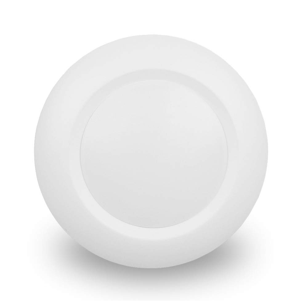6 Inch Slim Surface Mounting Round LED Disk Light, 15W, 1000Lumens, CCT 3000K, CRI>80, Dimmable, DOB Design, cETL Listed and Energy Star, WISH LIGHTING, 1 Pack