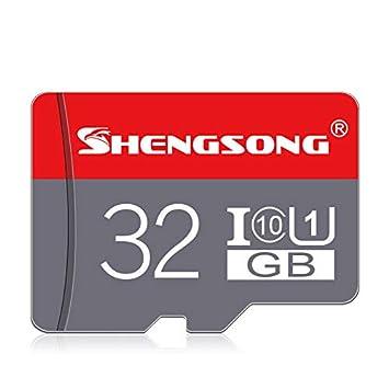 Amazon.com: Shengsong SS-BTF-01 TF - Tarjeta de memoria (32 ...