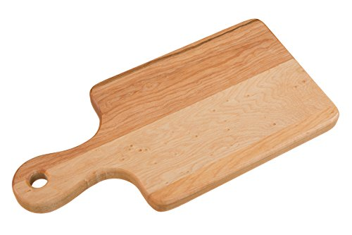 Labell Boards L06127 Canadian Maple Cutting Board with handle, 6x12x3/4