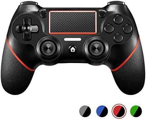 WXYOZ Controlador PS4, Controlador inalámbrico Dualshock Gamepad ...