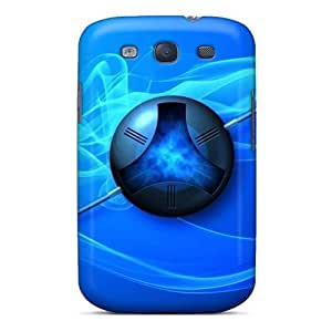 For Galaxy S3 Premium Tpu Cases Covers 3d Digital Art Protective Cases