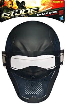 Costume Quest Plot (G.I. Joe Retaliation Snake Eyes Ninja Mask)