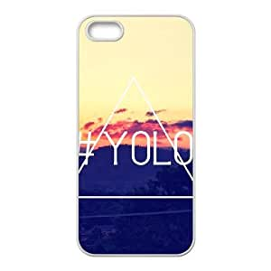 iPhone 5, 5S Phone Cases YOLO You Only Live Once Cell Phone Case TYG874220
