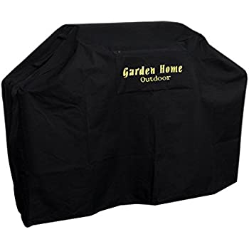 "Garden Home outdoor Heavy Duty Grill Cover, 70"" L, Black"