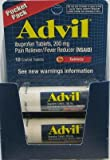 Advil Travel Size Tablets Vial 10-Count (Pack of 12)
